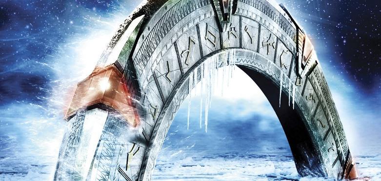 O Stargate enterrado na neve