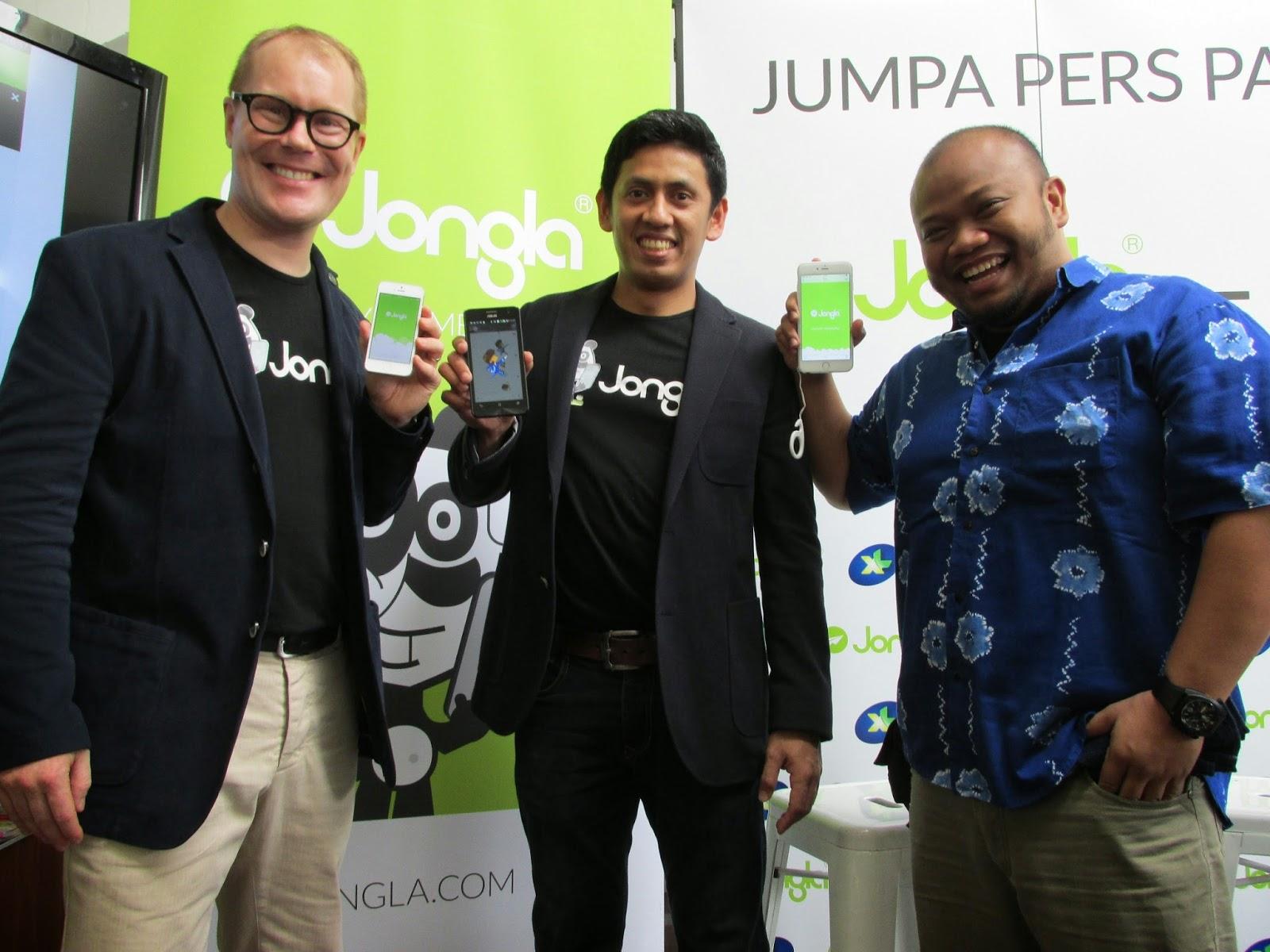 XL Jalin Kerjasama Dengan Jongla Instant Messenger