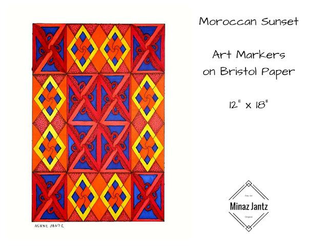 Moroccan Sunset by Minaz Jantz
