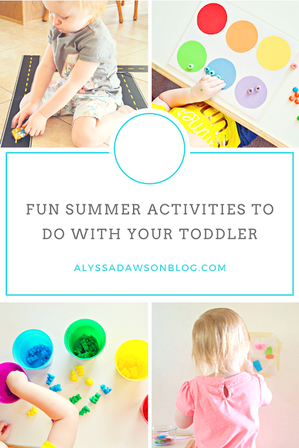 Fun Summer Activities to do With Your Toddler