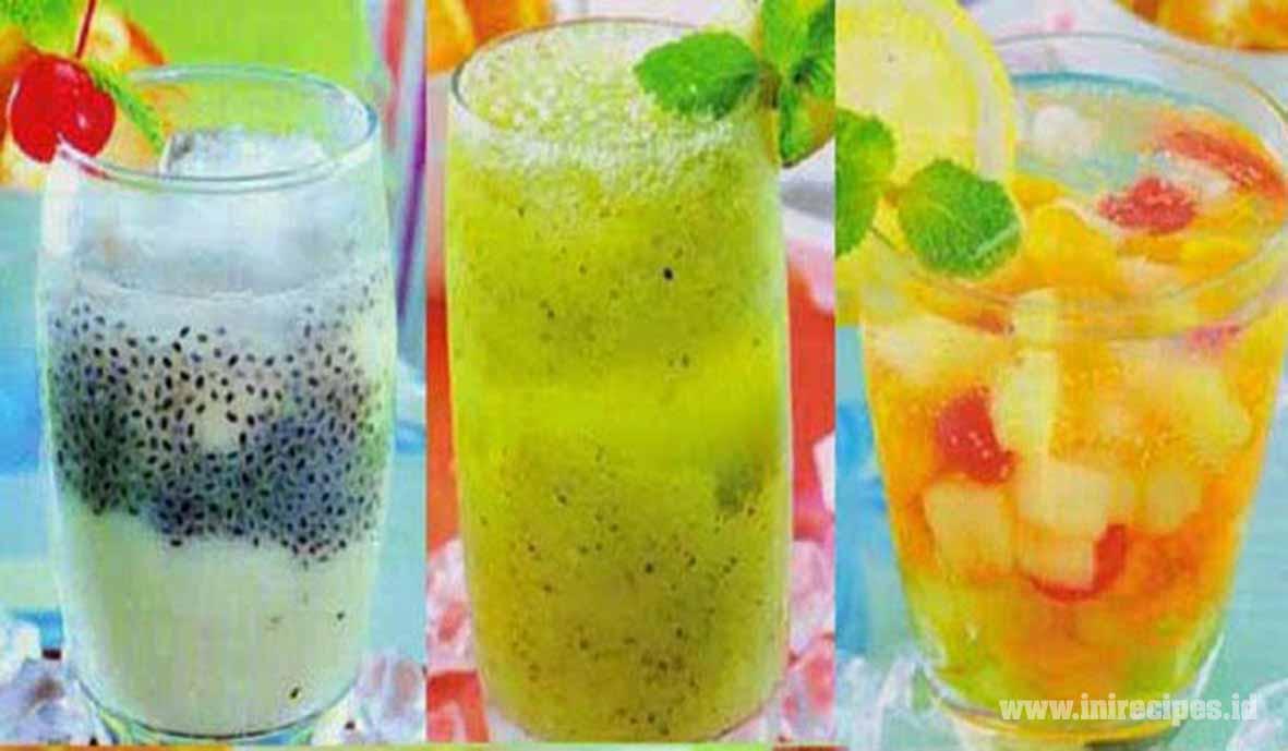 Resep Minuman Segar Berry Blow Lonic