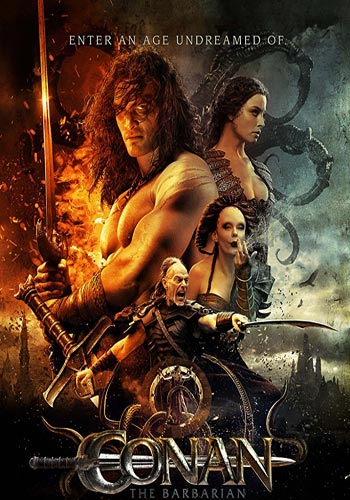 Conan The Barbarian 2011 Hindi Dual Audio 720p BluRay Poster