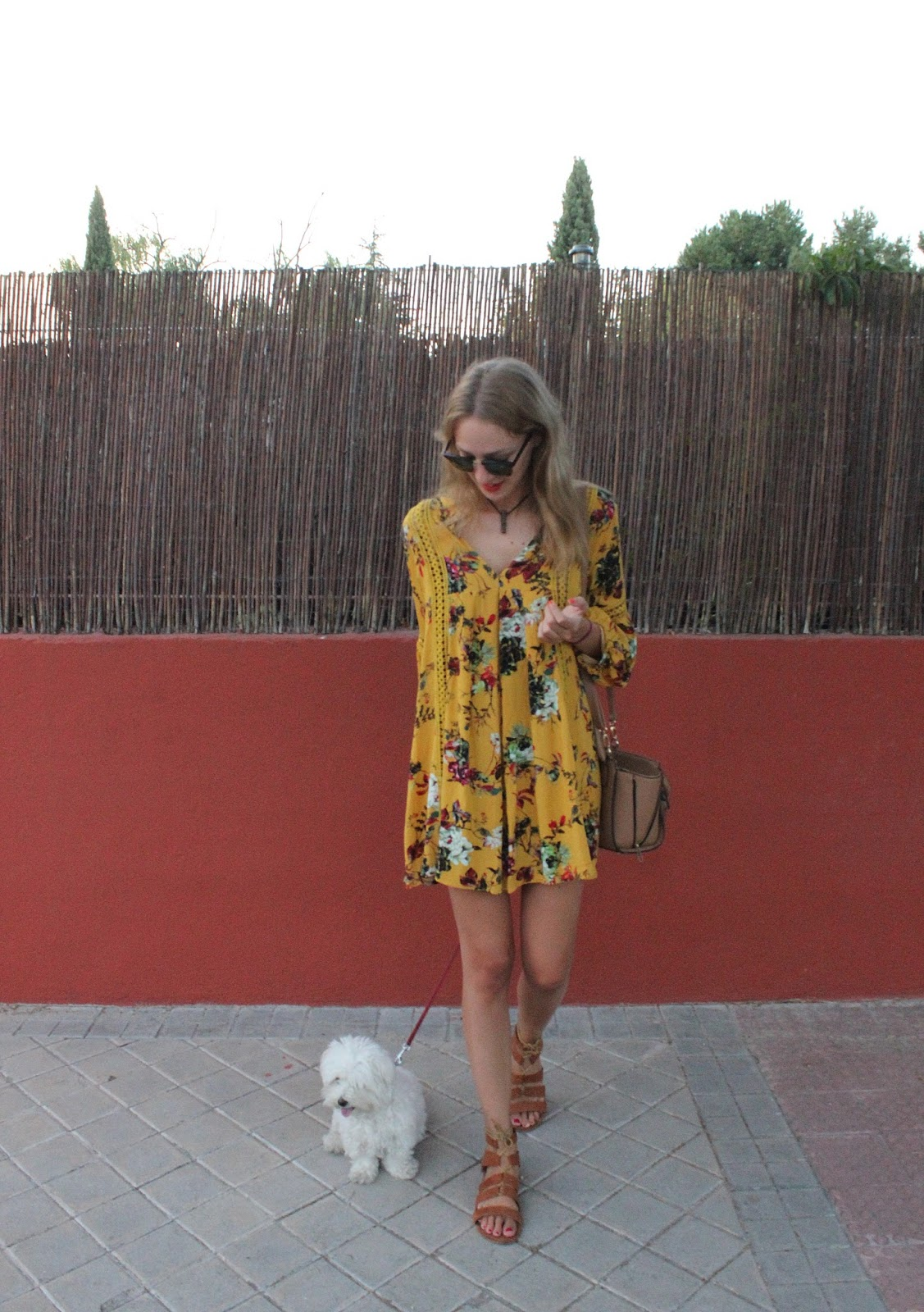 floral-mustard-dress-street-style