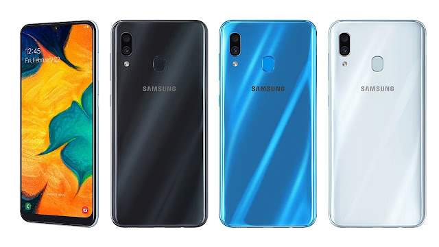 Samsung A30 colores prix Maroc caractéristique livraison maroc