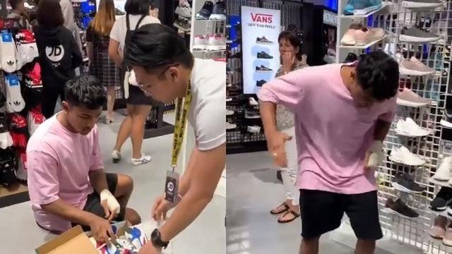 Pelayan Toko Dibuat Kaget, Ternyata Beginilah Yang Dilakukan Pembeli Sepatu Ini!   JabarPost Viral