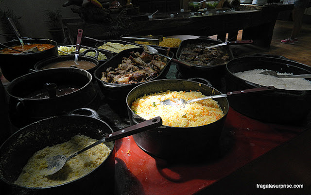Restaurante da Estância Mimosa, Bonito, Mato Grosso do Sul