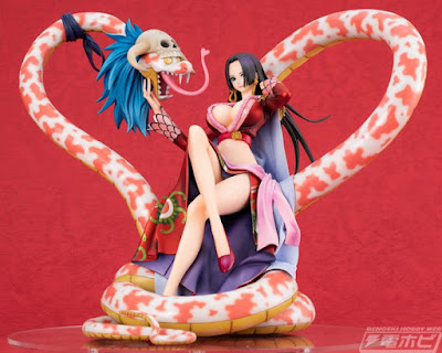 Portrait of Pirates P.O.P. Maximum Boa Hancock & Salome de One Piece - Megahouse