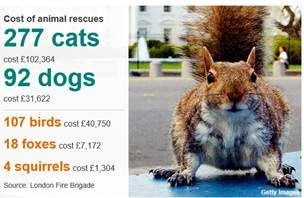 How much do London firefighters spend on saving helpless kittens? The Open Data answers
