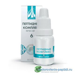 Пептидный комплекс №6 - для щитовидной железы