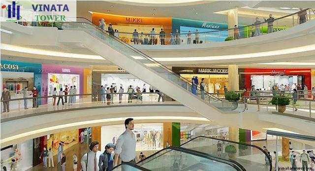 Trung tâm thương mại dự án Vinata Tower