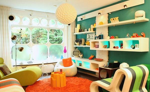 Sala estilo vintage