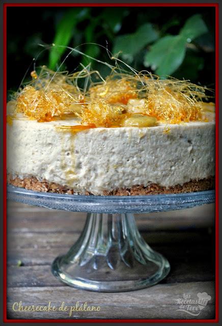 cheesecake de plátano tererecetas 08