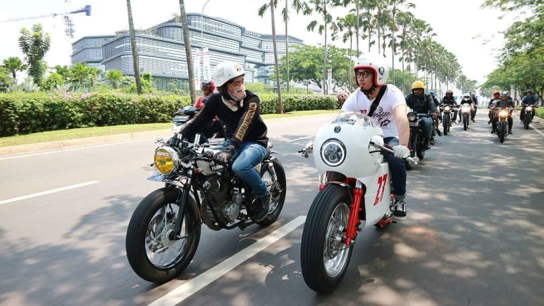 Sunmori Riding Caferacer Scorpio