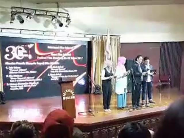Daftar Nomine Terpuji Film Televisi dan Film Bioskop Festival Film Bandung 2017