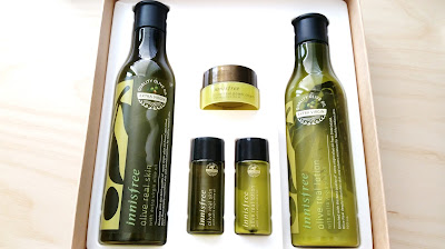 Innisfree Olive Real Set