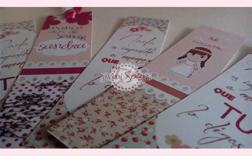 marcapaginas personalizados regalos boda comunion