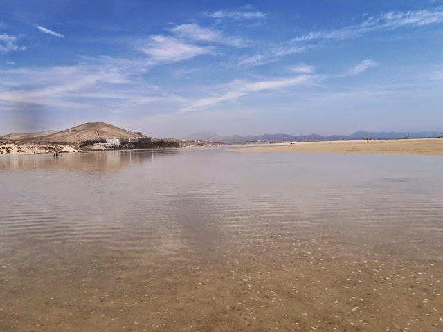 Laguna de Sotavento en Fuerteventura