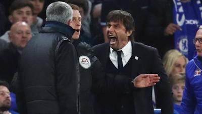 image of Mourinho and Conte