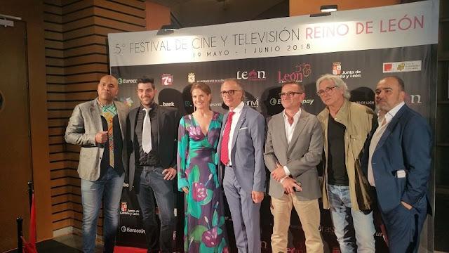 [Festivales] Arranca el V Festival de Cine y Televisión Reino de León con la presencia de Santiago Zannou