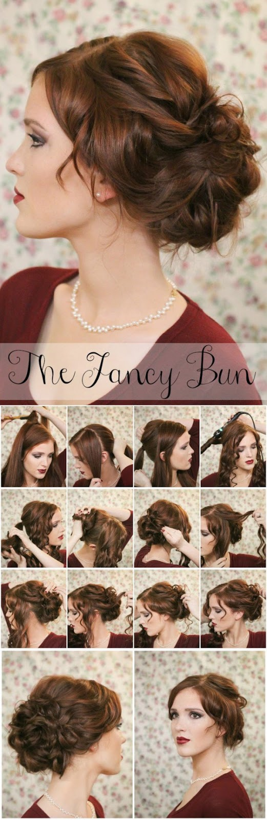 15. The Fancy BUN