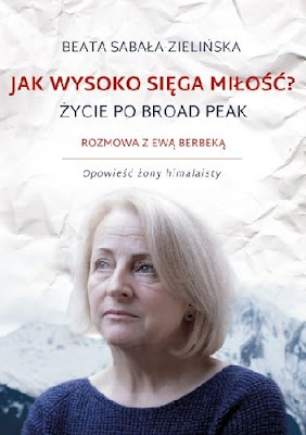 """Życie w chmurach, czyli """"Jak wysoko sięga miłość"""" Beaty Sabały-Zielińskiej."""