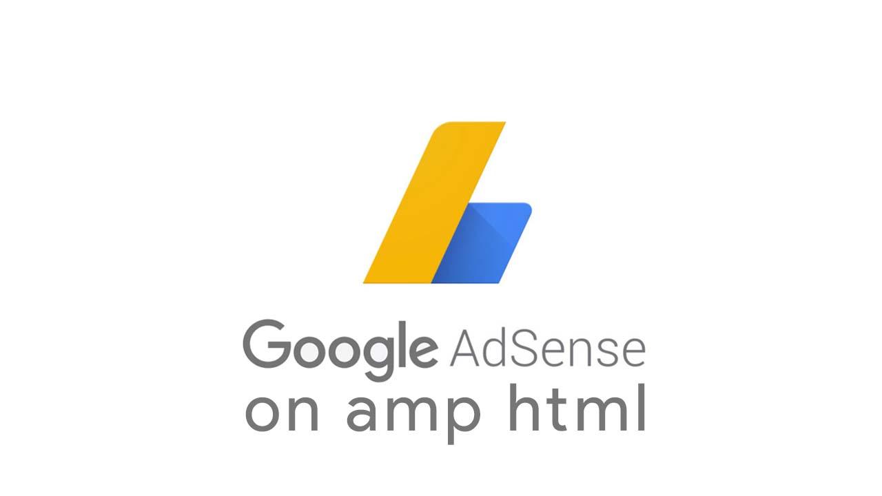 Menyimpan Iklan Adsense Di Sidebar Blog AMP HTML