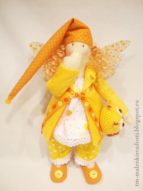 Ангел Сна кукла ручной работы