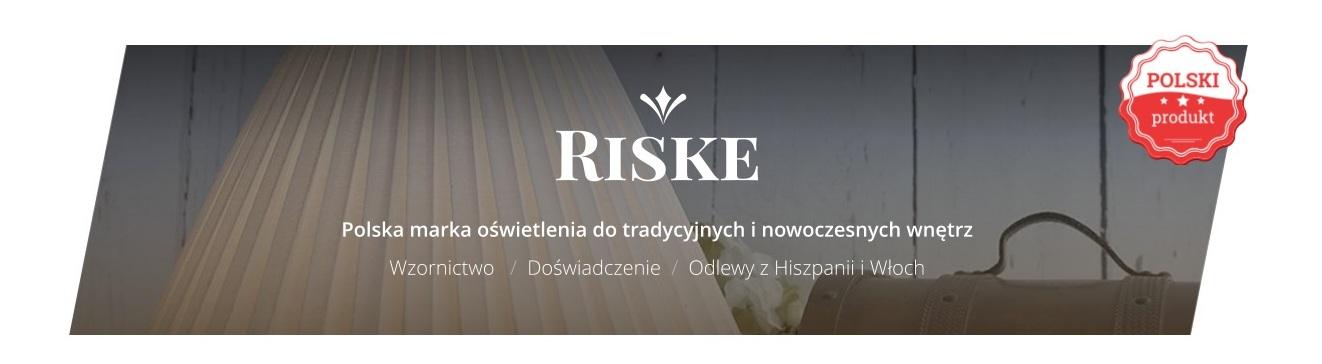 Druciany  Plafon loft Olsen ze sklepu RISKE.PL - Element, który doda charakteru każdemu wnętrzu...