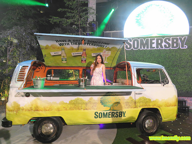Somersby Somertime Anytime with Volkswagen Kombi Vans