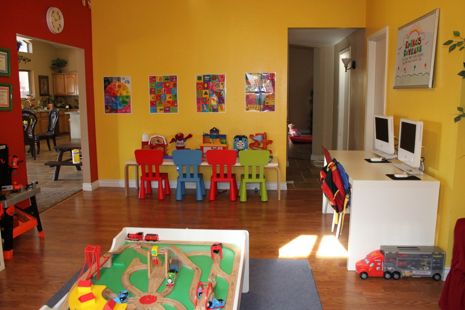 Home Daycare Design Ideas: Welcome To Erika's Daycare