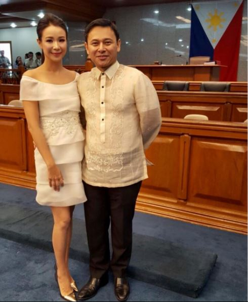 Sonny Angara and Tootsy SONA 2017
