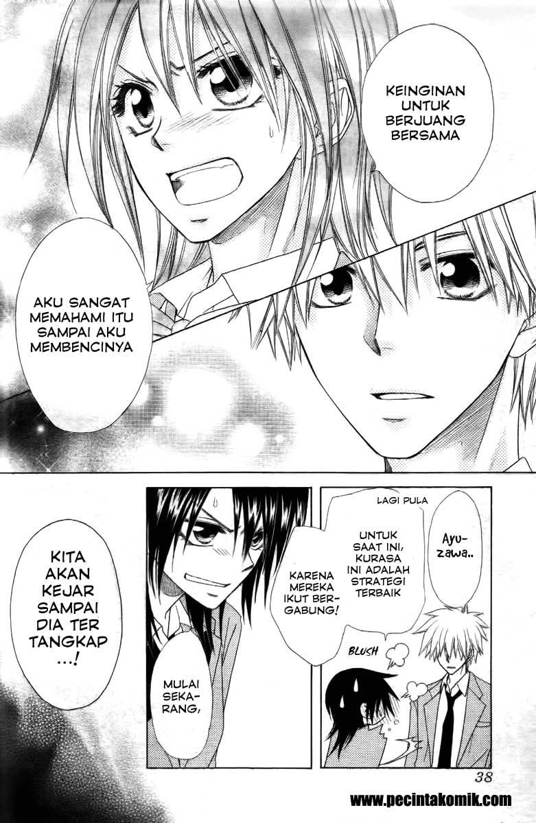 Kaichou Wa Maid Sama Chapter 53-18