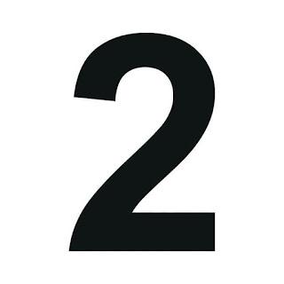cyfra 2 do druku