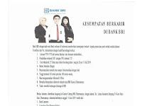 Bank BRI KC Dharmasraya - Lowongan Frontliner dan Petugas Administrasi 17 Mei 2019