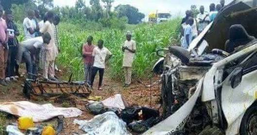 Minister Escapes Death In Fatal Accident, Driver Burnt