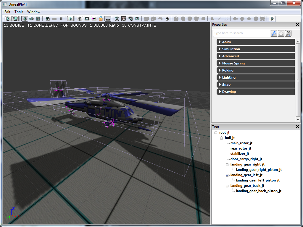 Technical Game Design: UDK vs CryEngine 3 SDK - Exporting animated