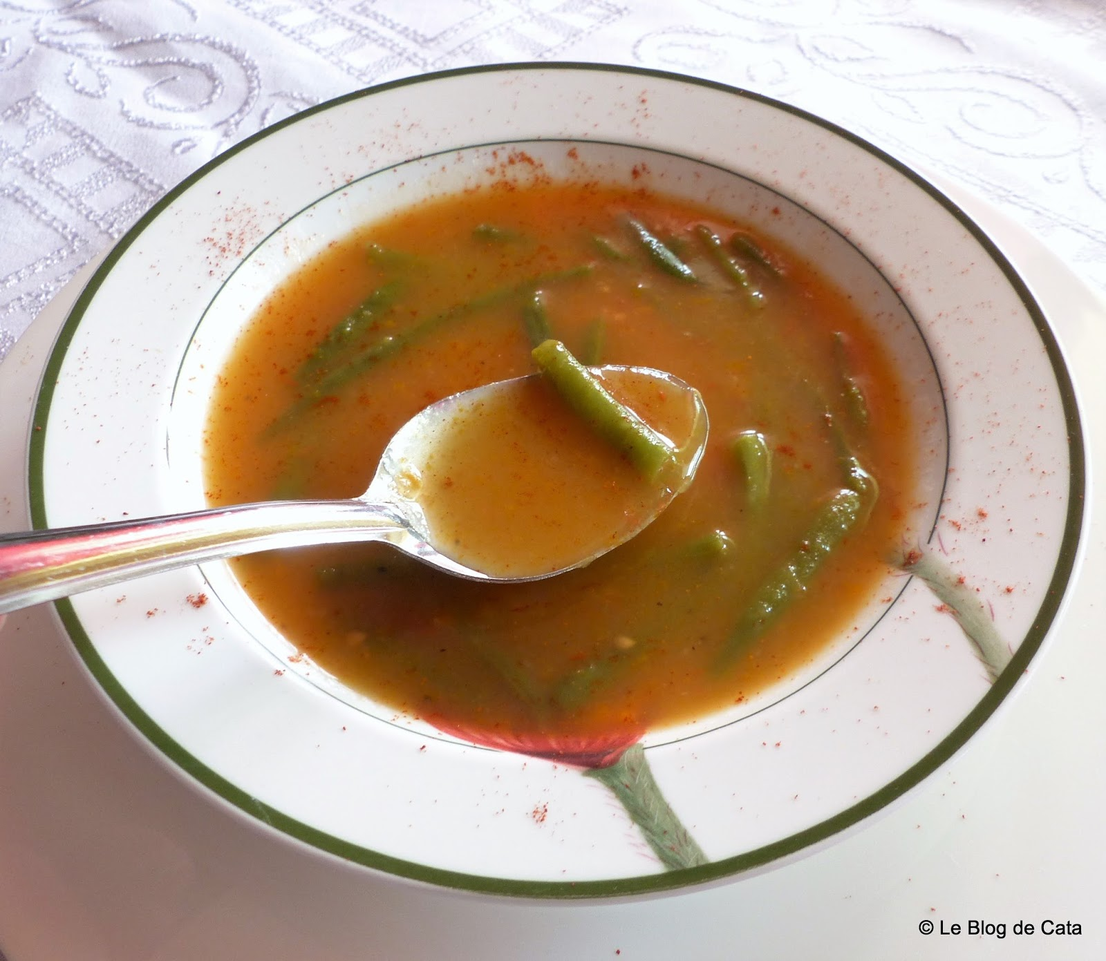 Soupe aux haricots verts sopa de feij o verde - Cuisiner les haricots verts ...