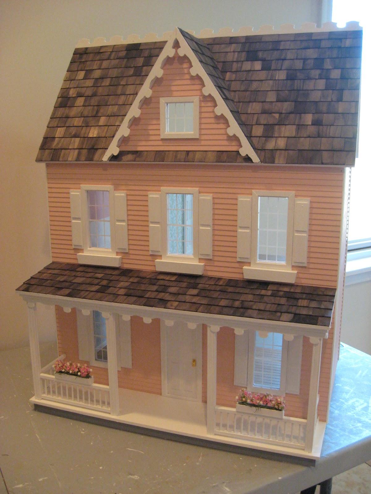 Little Darlings Dollhouses Building The Vermont Farmhouse