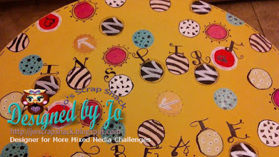 New April Color Challenge at More Mixed Media Challenges~