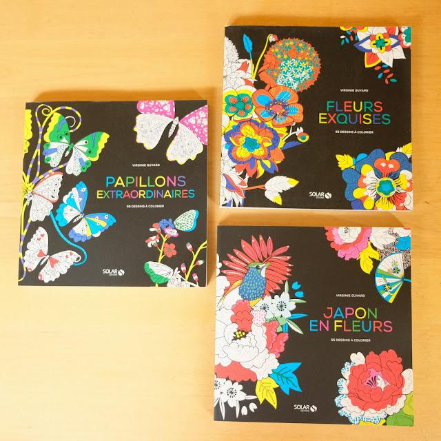 livre à colorier solar
