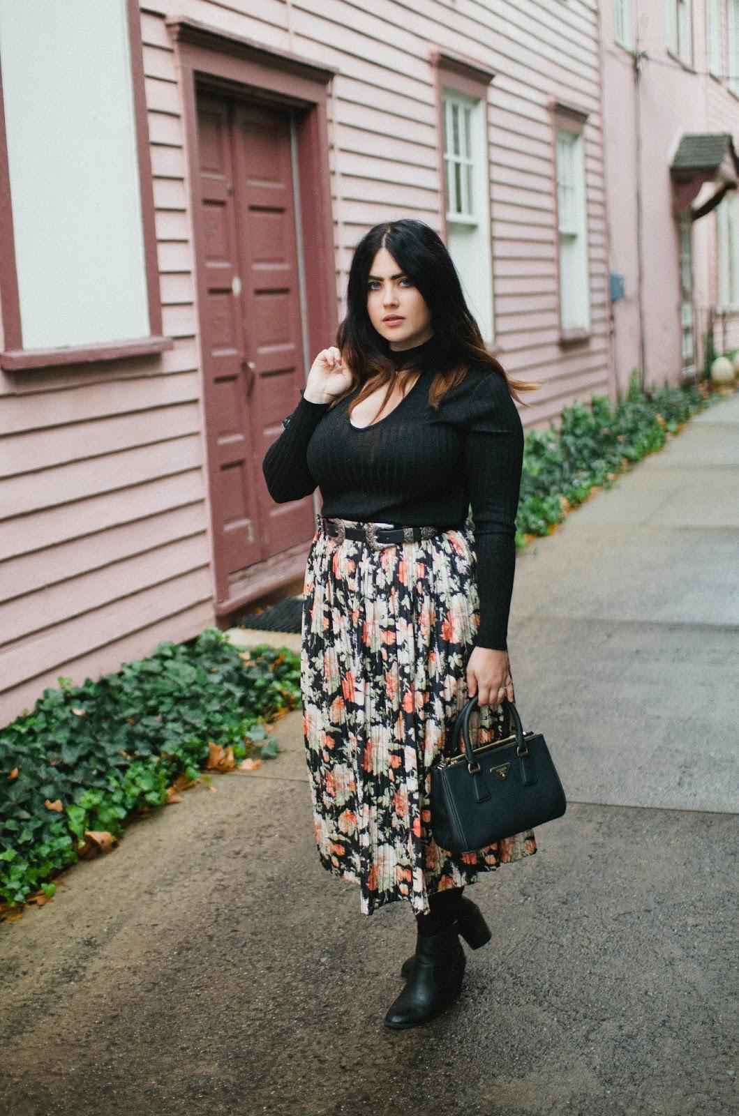 black, choker, sweater, street, style, blogger, Philadelphia, fashion, H&M