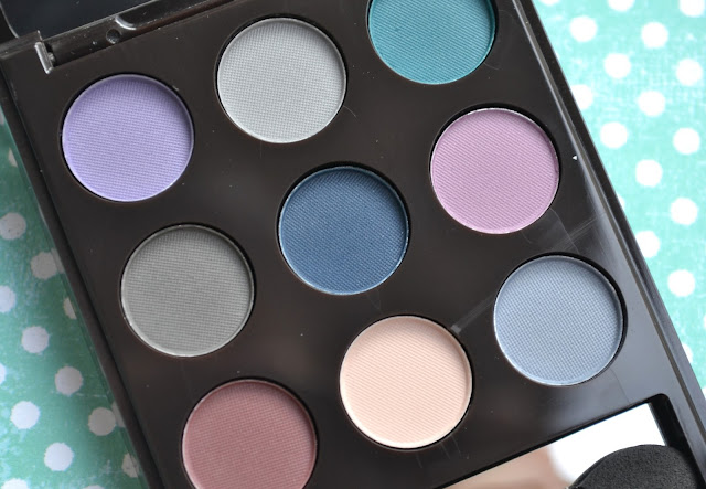 Avon mark On the Dot Palette Matte Review Swatches Makeup Look