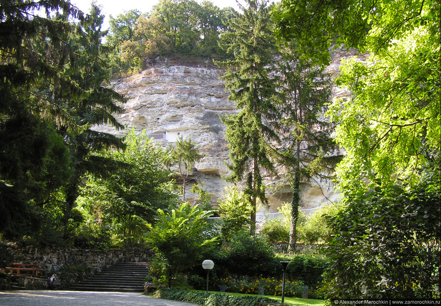 Известняковая скала, монастырь Аладжа, Болгария