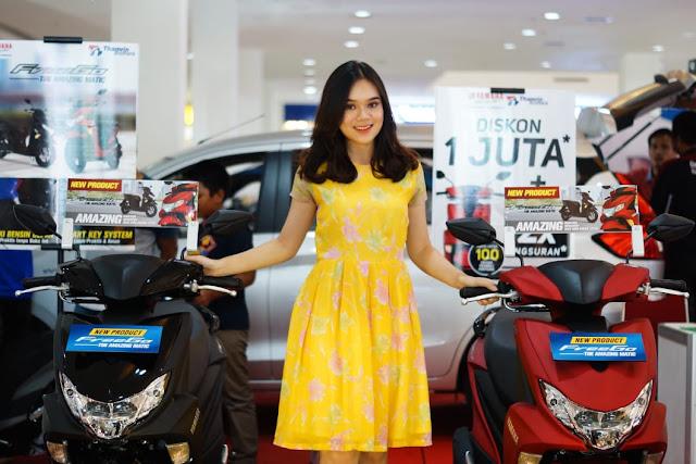 Yamaha FreeGo di palembang