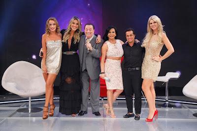 Lola, Ciça, Raul, Gretchen, Thammy e Val (Crédito: Rodrigo Belentani/SBT)