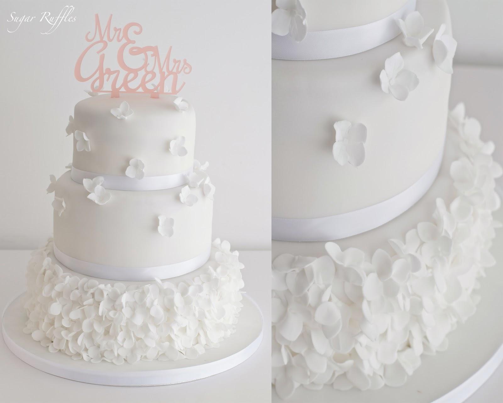 3 Tier Wedding Cakes 65 Fabulous A tier wedding cake