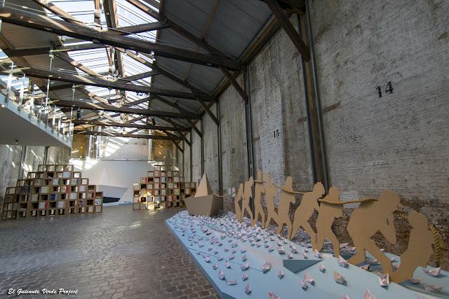 Museo Red Star Line, trabajos de sirga - Amberes por El Guisante Verde Project