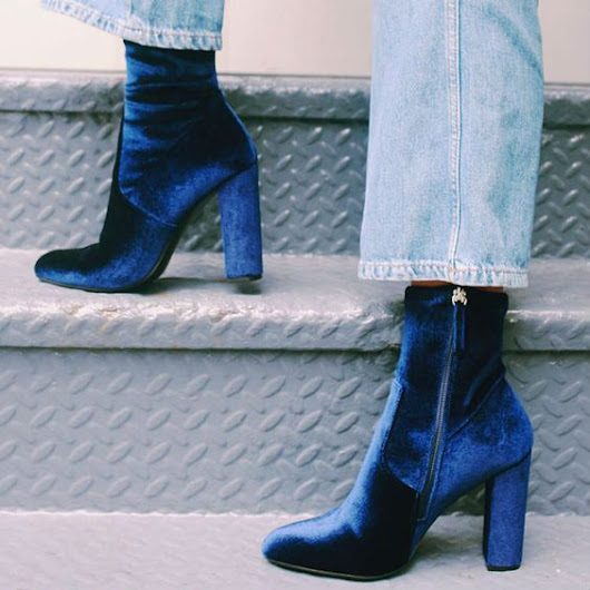 Outfit Inspiration: Blue Velvet         -          The Front Row View