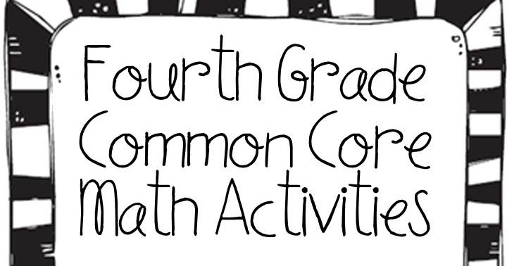 Love to Teach :): 4th Grade Common Core and Pictures