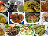 Kandungan Dan Manfaat Makanan Khas Daerah